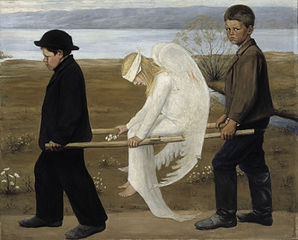 Hugo Simberg wounded angel